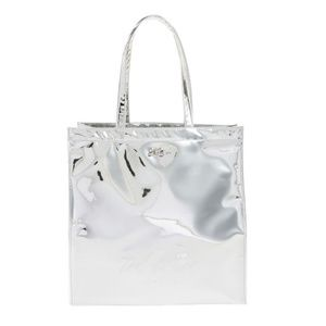Ted Baker London Jencon Mirrored Silver Large Tote